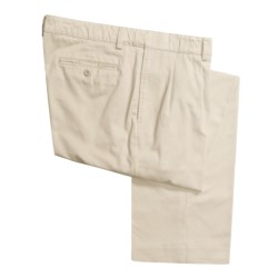 Hart Schaffner Marx American Classic Pleated Trouser Pants - Twill (For Men)