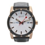 Mondaine Sport II Day/Date Watch - Rose Gold Markers