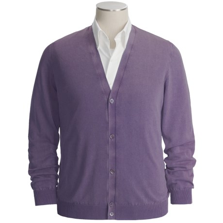 Gran Sasso Vintage Cotton Cardigan Sweater (For Men)