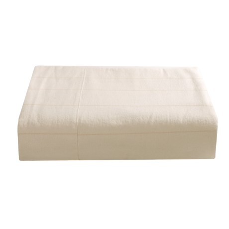 Coyuchi Certified Organic Cotton Flannel Sheet Set - Queen