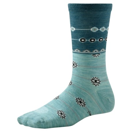 SmartWool Daisy Chain Socks - Merino Wool, Crew (For Women)