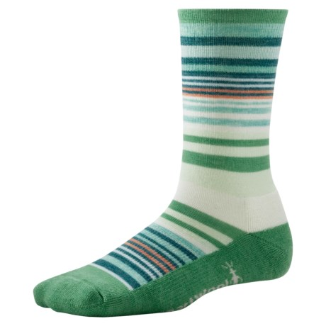 SmartWool Jovian Stripe Socks - Merino Wool, Crew (For Women)