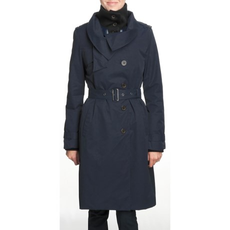 Victorinox Cotton-Rich Trench Coat - 3-in-1 (For Women)