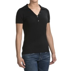 Victorinox Swiss Army Victorinox Refined Polo Sweater - Short Sleeve (For Women)