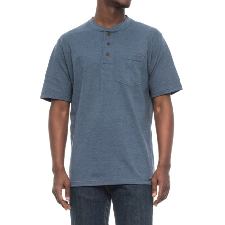Smith's Workwear Henley Crew Pocket T-Shirt - Short Sleeve (For Men)