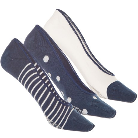 Timberland Boat Liner Socks - 3-Pack, Below the Ankle (For Women)