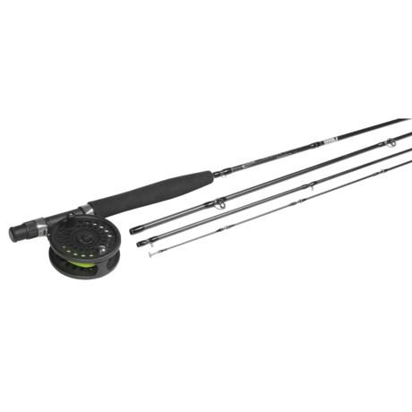 Powell Fly Rods Mill Creek Fly Fishing Rod/Reel Combo - 9', 5wt, 4-Piece