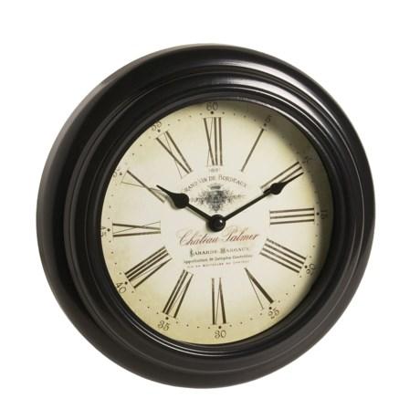 """Equity by La Crosse Technology Metal Wall Clock - 10"""""""