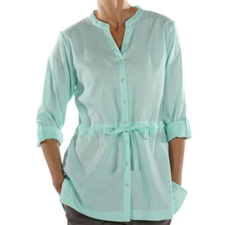 ExOfficio Next-to-Nothing Zigana Shirt - Long Sleeve (For Women)