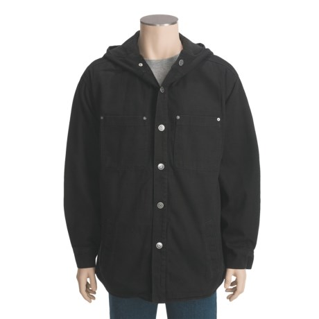 Mike Rowe Works Dirty Jobs Button-Up Jacket - Fleece Lining (For Men)