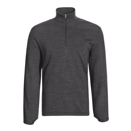 Icebreaker Sport 320 Original Zip Neck Shirt - Merino Wool, Long Sleeve (For Men)