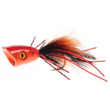 Montana Fly Company Double-Barrel Popper Bass Fly - Dozen