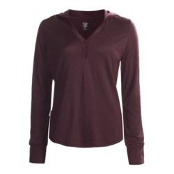 Icebreaker Superfine 200 Bliss Hooded Shirt - Merino Wool, Long Sleeve (For Women)