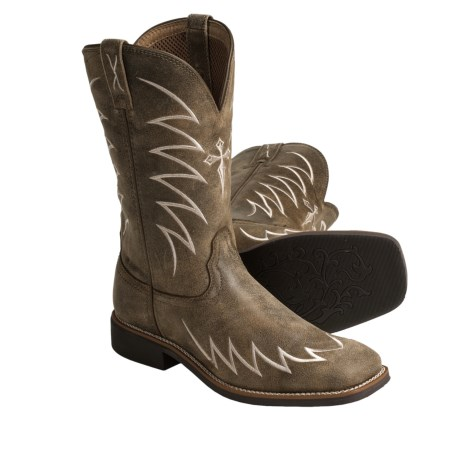 Twisted X Boots Top Hand Cowboy Boots - NWS-Toe (For Men)