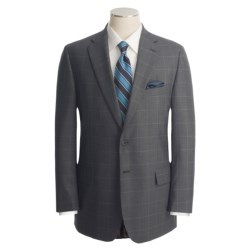 Corbin Windowpane Plaid Suit - Wool (For Men)