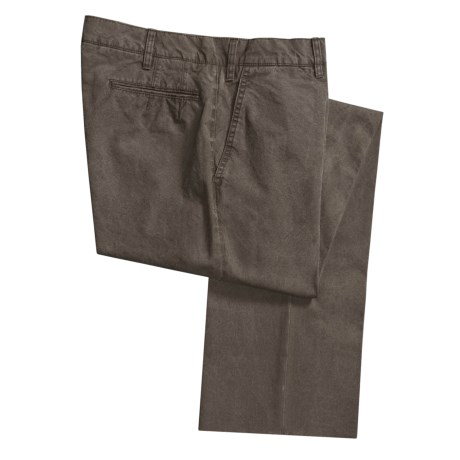 Corbin Garment-Washed Pants - Cotton (For Men)