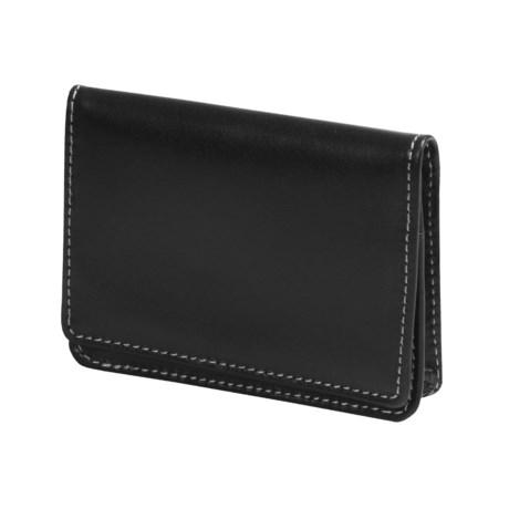 Wisecracker The Pocket Flip Wallet - Leather