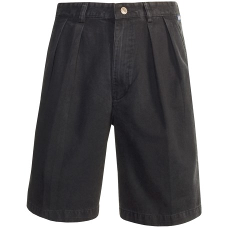 Kahala Twill Fitted Shorts (For Men)
