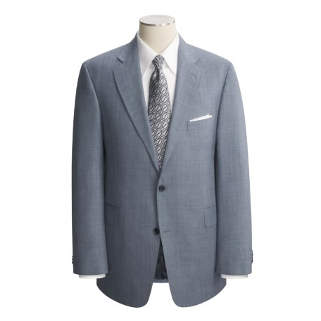 Arnold Brant Wool Pinstripe Suit Jacket (For Men)