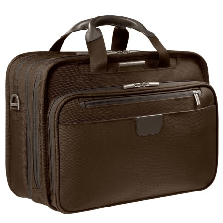 Briggs & Riley Executive Clamshell Briefcase - Medium