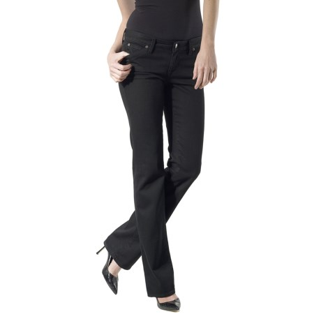 Agave Nectar Mariposa Blackout Jeans - Stretch, Classic Fit, Straight Leg (For Women)