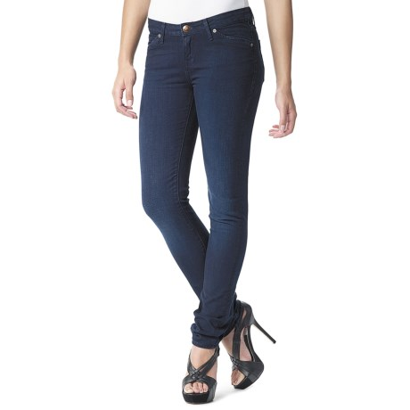 Agave Nectar Paloma Midnight Skinny Jeans - Stretch, Classic Fit (For Women)