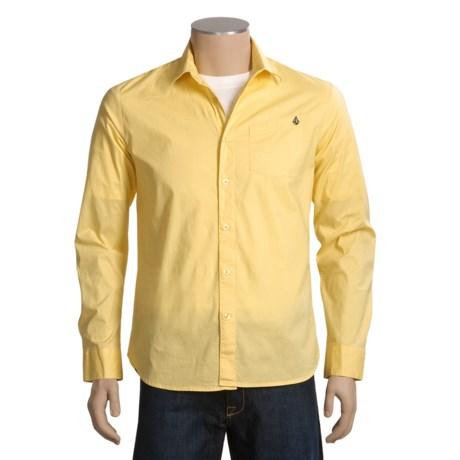 Volcom X Factor Solid Shirt - Long Sleeve (For Men)