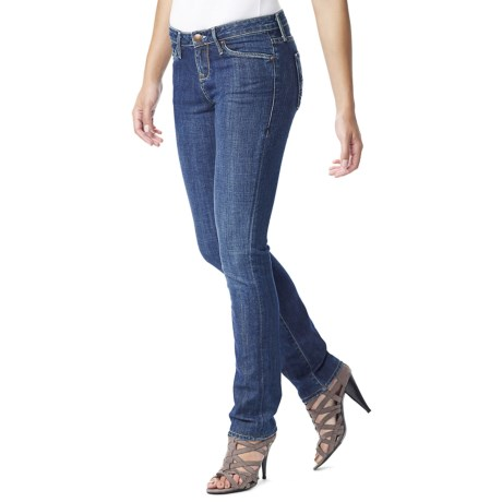 Agave Nectar Athena Crete Jeans - Supima® Cotton, Relaxed Fit, Straight Leg (For Women)