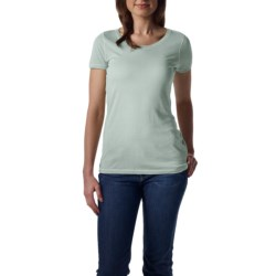 Agave Nectar Orchid T-Shirt - Supima® Cotton-Micromodal®, Short Sleeve (For Women)