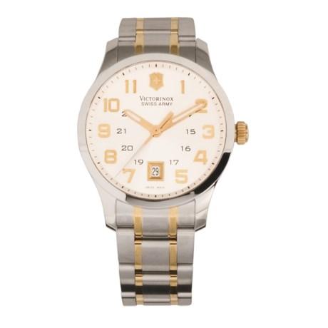 Victorinox Swiss Army Alliance Watch - Two-Tone Gold
