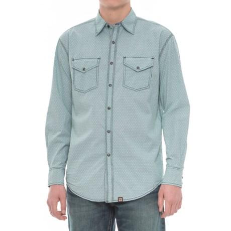 Cowboy Up Woven Snap Shirt - Long Sleeve (For Men)
