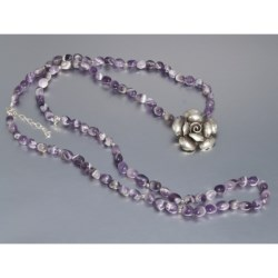 Aluma USA Amethyst Necklace - Convertible