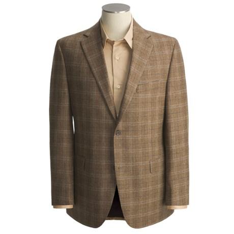 Jack Victor Wool Plaid Sport Coat (For Men)
