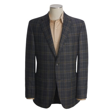 Jack Victor Plaid Sport Coat - Wool (For Men)