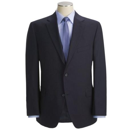 Jack Victor Shadow Stripe Suit - Wool (For Men)