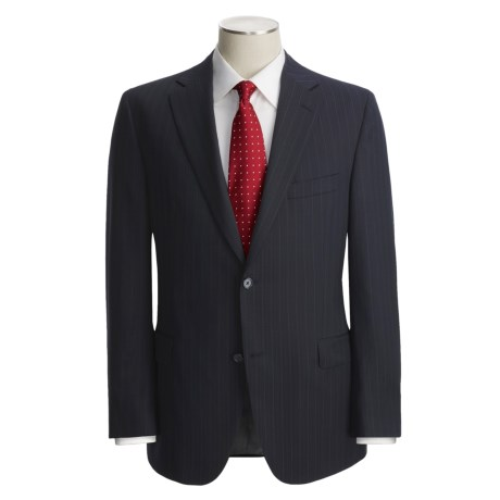 Jack Victor Shadow Stripe Suit - Wool (For Men)