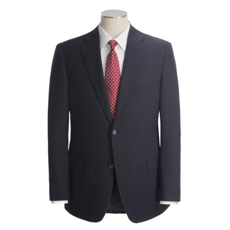 Jack Victor Beaded Shadow-Stripe Suit - Wool (For Men)