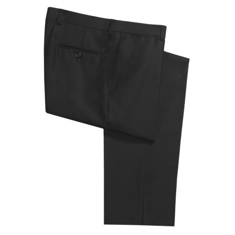 Riviera Spencer Wool Dress Pants - Tonal Diagonal Stripe (For Men)