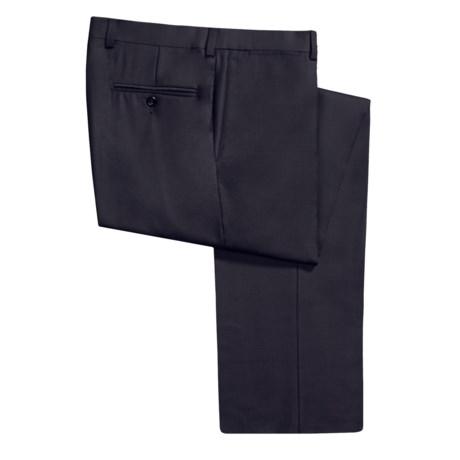 Riviera Armando Tonal Check Dress Pants - Wool (For Men)