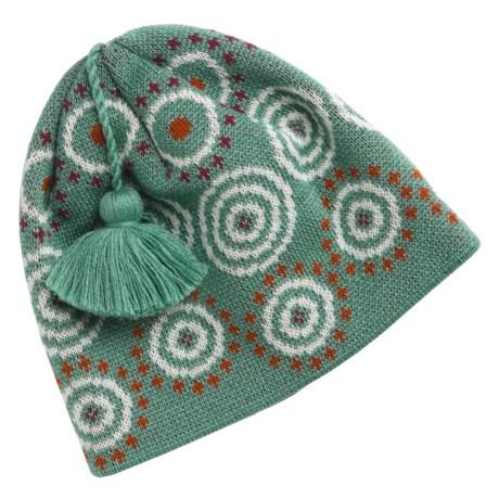 SmartWool Wintersport Dot Beanie Hat - Merino Wool (For Kids)