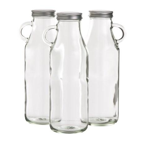 Jay Imports Milk Bottle - 32 oz., Set of 3