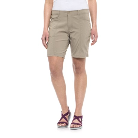 """North River Stretch-Woven Outdoor Shorts - 8"""" (For Women)"""