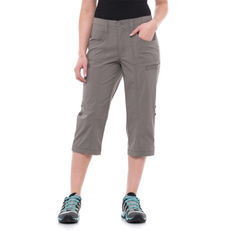 North River Stretch-Woven Outdoor Convertible Capris (For Women)