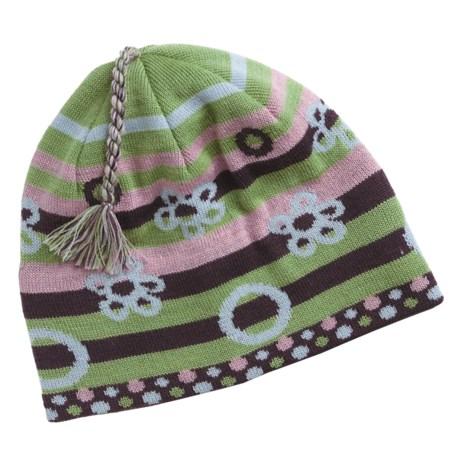 SmartWool Bubble Stripe Beanie Hat - Merino Wool (For Kids)