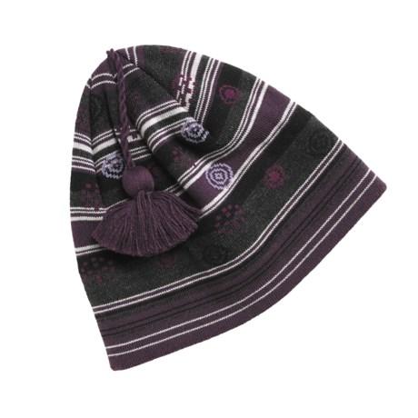 SmartWool Ski Stripe Dot Beanie Hat - Merino Wool (For Men and Women)