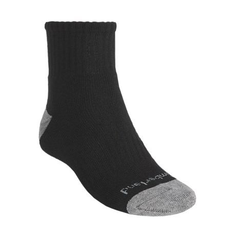 Timberland Lightweight Socks - 3-Pack, Quarter-Crew (For Men)