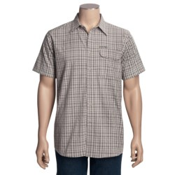 Hi-Tec Checkerboard Mesa Plaid Shirt - Short Sleeve (For Men)