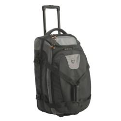 """High Sierra ATQ Drop-Bottom Rolling Duffel Bag - 26"""""""