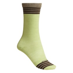 Goodhew OMG Crew Socks - Merino Wool Blend (For Women)