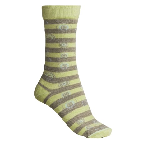 Goodhew Independence Day Crew Socks - Merino Wool (For Women)